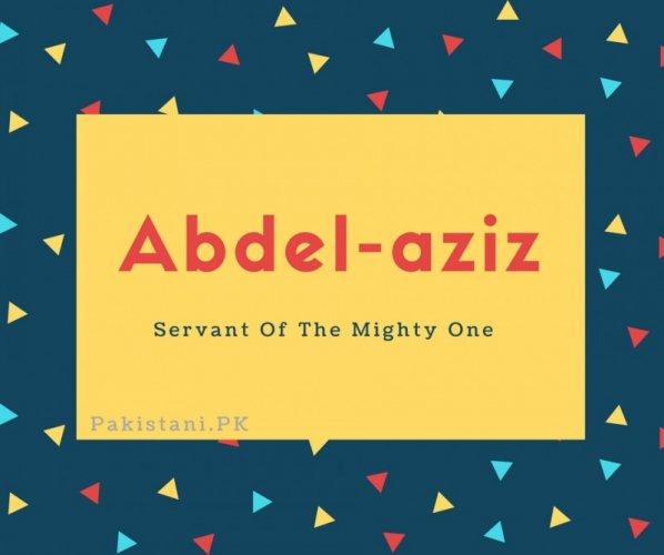 Abdel-aziz