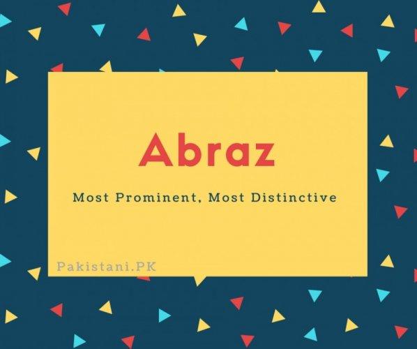 Abraz