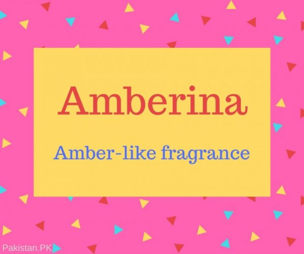 Amberina Name Meaning Amber-like fragrance.