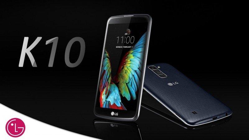 LG K10 Smart View