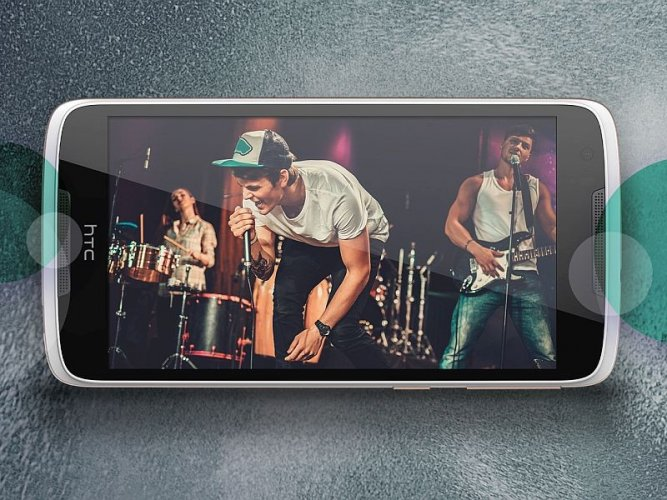 HTC Desire 828 dual sim Front View