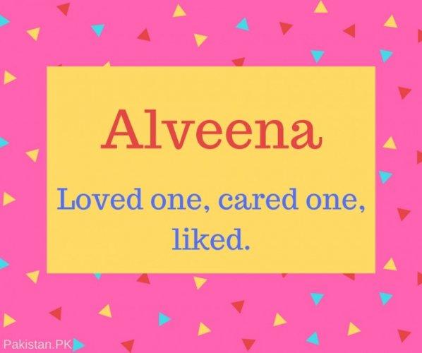 What is Alveena Name Meaning In Urdu - Alveena Meaning is پیارا