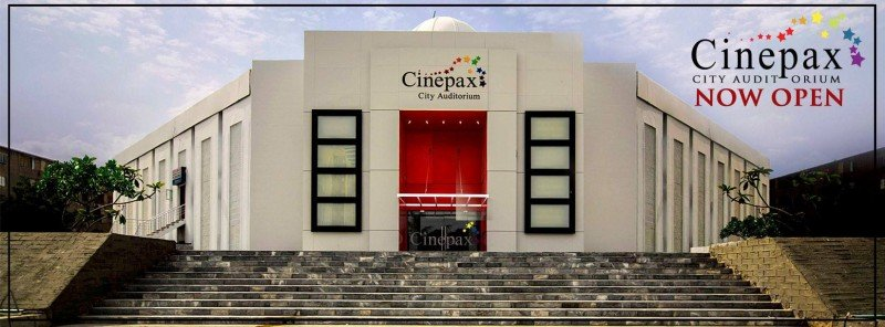 Cinepax City Auditorium Cover
