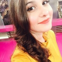 Hina Altaf Khan In Yellow Dress
