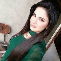 Beautiful Kiran Naz in Green Dress