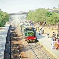 Landhi Railway Station 8