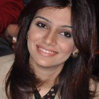 Cute Ayesha Khalid in Cream Color Coat