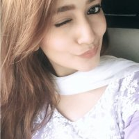 Cute Zarnish Khan Looking Happy