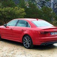 Audi A4 2016 Back View