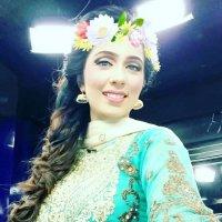 Gorgeous Sehrish zohaib in Sew Green Dress
