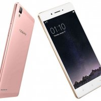 Oppo F1 Front and Back View