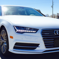 Audi A7 2016 Front View