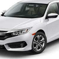 Honda Civic 4-Door Manual LX 4