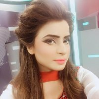 Beautiful Ainee Junaid in White Dress