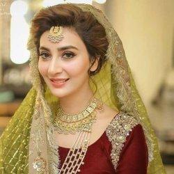 Beautiful Ayesha Khan Wedding Picture