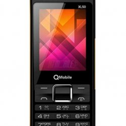 QMobile XL50 Black Color