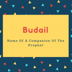 Budail Name Meaning Name Of A Companion Of The Prophet