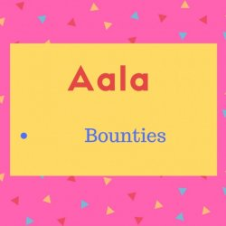 Aala Name Meaning