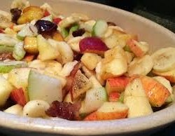 How To Cook Fruit and Chickpea Chaat