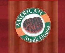 American Steak house logo