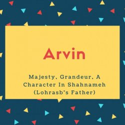 Arvin Name Meaning Experiment, Trial