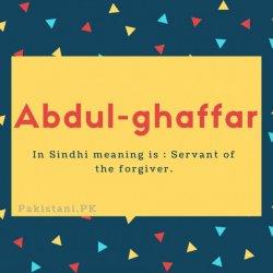 Abdul-ghaffar