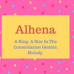 Alhena Name Meaning A Ring. A Star In The Constellation Gemini