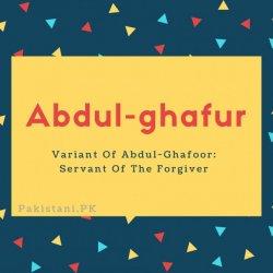 Abdul-ghafur