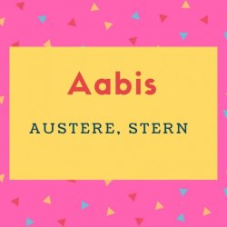 Aabis Name Meaning