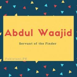 Abdul Waajid