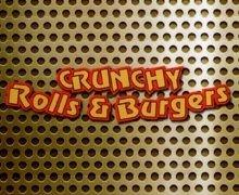 Crunchy Roll & Burger Logo