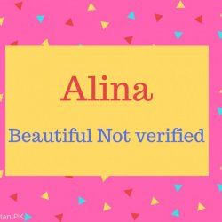 Alina Name Meaning Beautiful Not verified.