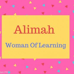 Alimah Name Meaning Woman Of Learning.