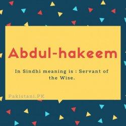 Abdul-hakeem