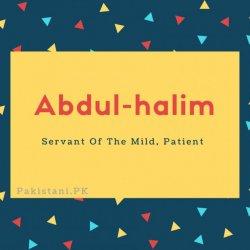 Abdul-halim