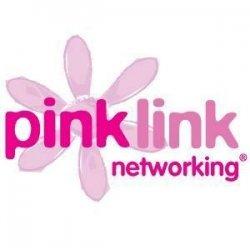 Pink Link Network Logo