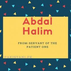 Abdal halim
