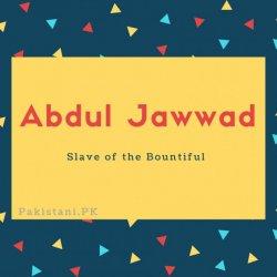 Abdul Jawwad