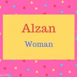 Alzan Name Meaning Woman