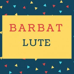 Barbat Name meaning Lute.