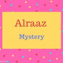 Alraaz Name Meaning Mystery