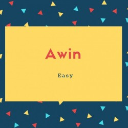 Awin Name Meaning Easy