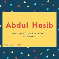 Abdul Hasib