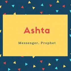 Ashta Name Meaning Messenger, Prophet