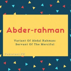 Abder-rahman