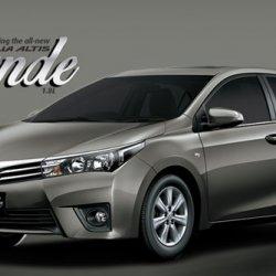 Toyota Corolla Altis 1.8 Grande 2017 Cover