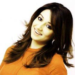 Smart Nabeeha Ejaz in Orange Dress