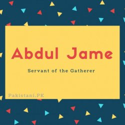 Abdul Jame
