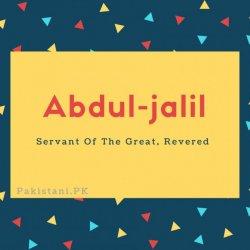 Abdul-jalil