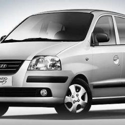 Hyundai Santro Club Side overview